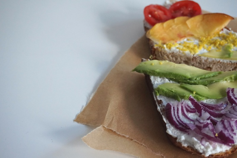 kanapka z awokado