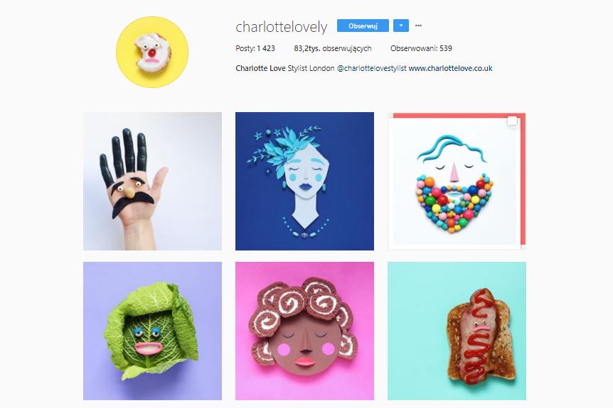 Kolorowe konta na Instagramie